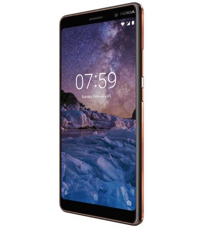 Nokia 7 Plus - Rückseite