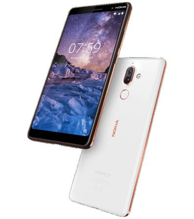 Nokia 7 Plus - Weiß