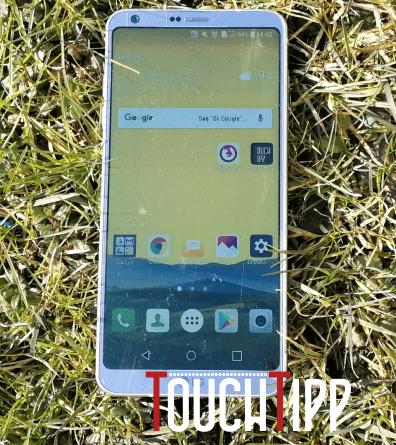 LG G6 - Vorderseite