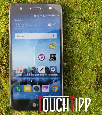 LG Q6 - Vorderseite