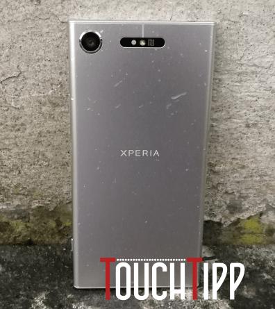 Sony Xperia XZ1 - Rückseite