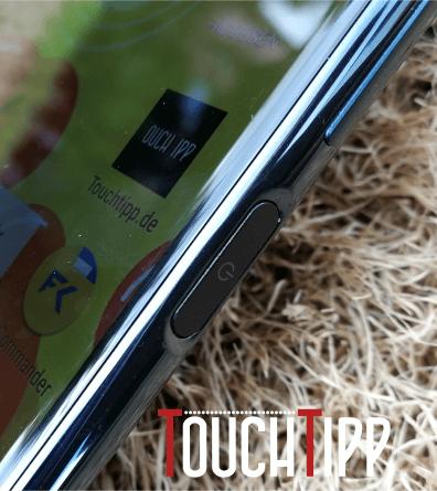 Sony Xperia XZ Premium - Powerbutton/Fingerabdrucksensor