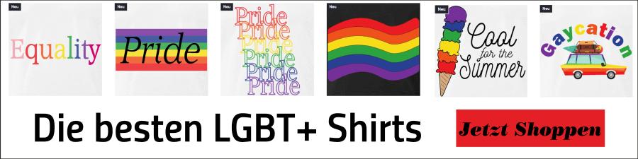 Gay Pride Shop - Dein Shop für farbenfrohe LGBT+ Designs